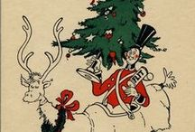 Christmas Ephemera (vintage) / This started off as a board for Christmas ads, but now it's a board for festive ephemera -- the ads have their own boards now. / by Lennie Locken
