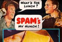 Canned meat and fish / Vintage ephemera for all types of canned meat and fish, such as spam and tuna, and other similar goodies / by Lennie Locken