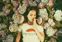Lana Del Rey by Neil Krug /  Neil Krug is an American director, photographer and artist based in Los Angeles. He worked with Lana Del Rey throughout 2014 and 2015 to do shoots for her major-label albums Ultraviolence and Honeymoon, as well as magazine shoots and other promotional images.      NKandLDR