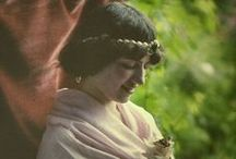 """More Autochromes /  Autochromes are an early color photo process.  Some of these are from the Albert Kahn Project:  Kahn finaced photographers to document people around the world in color.  ****More photos on """"Traditional Dress Around The World"""".  ***Please do not pin more than 20 at one time.*** / by Kimberly Sondra"""