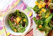 Sassy Salads / These salads are anything but boring