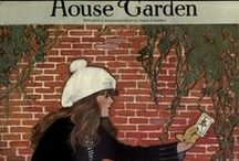 House/Garden Magazines & Illustrations / Please pin no more than 10 at one time/or do not raid the board!  / by Kimberly Sondra