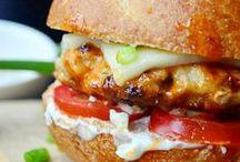 Burgers - Poultry & Pork
