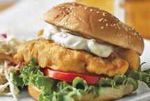 Burgers - Fish & Seafood