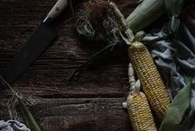 ~corn and polenta~ / Corn on the cob, corn salads, polenta- soft or fries, breads, recipe, photography and inspiration