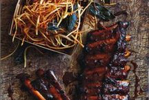 ~barbecue~ / Barbecue mains, sides and fixings: from glazed ribs and BBQ chicken kebabs to baked beans and slaws. Photography, recipes and inspiration for my food blog 'feed me dearly'.
