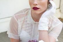 50's style weddings / 1950's themed weddings!