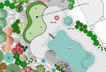 TLC -Vectorworks Landmark Plans and models / landscape plans and models developed for clients with Vectorworks Landmark with Renderworks