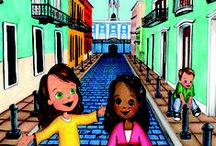 Molly Goes to Puerto Rico / Children's book that introduces the unique culture of Puerto Rico to young readers and parents. #travel #family #childrens #books #illustration #educational