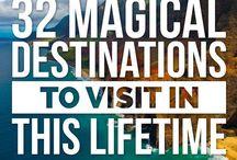 Travel Destinations ❤ / Doesn't matter where ☺