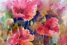 Pintura -Watercolor 5 / Imagens de trabalhos em watercolor que me impressionam pela beleza.