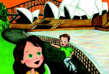 Molly Goes to Sydney / The latest in the children's book series Molly and the Magic Suitcase releases early in May 2015. #Sydney #Australia #childrens #books #educational #travel
