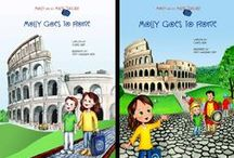 Molly Goes to Rome / Pins and images from our illustrated book series as well as a few photos from other sources. #childrens #books #travel #Rome #Italy #educational