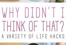 Life Hacks ✔ / Life hacks