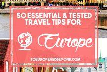 Travel Europe ❤ / On my bucket list