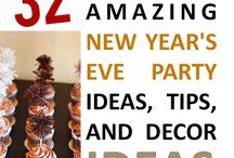 Holiday - New Years / New Year appetizers, drinks, and décor
