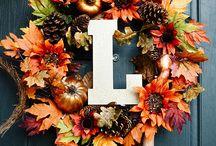 Holiday - Autumn / Fall Ideas and Décor / Indoor and outdoor décor ideas and crafts for autumn / fall