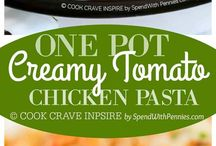 Recipes ~ One Pot Meals / Cooking can't get any easier than this