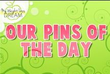 Our Pins Of The Day / Weight loss and fitness tips for each day of the week. #weightlosstips #fitnesstips #diettips