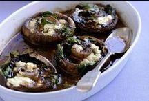 Mushrooms / Vegetarian mushroom meals