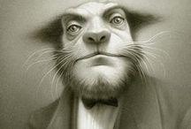 Illustrations / by Francis Pelletier (le Pelleteur de nuages)