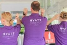 You are more than welcome / Team of the Hyatt Regency Cologne
