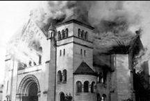 Kristallnacht / 9-10 de noviembre de 1938 Estallido de la Noche de Cristal en Alemania