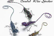 Beads: wirework / Making beaded ornaments
