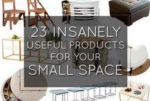 TRIKI w małym mieszkaniu / Triki i rozwiązania, które pomogą zoptymalizować Twoją przestrzeń w małym mieszkaniu.