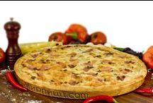 Пицца и Роллы / Фотографии различных вкусностей.