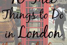 Reizen : Londen / Er op uit