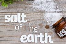 Salt Of The Earth / Customise your clients' salon experience with Salt Of The Earth.