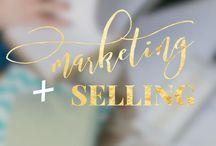 Marketing + Selling / Social media marketing | Marknadsföring för sociala medier. Grafisk design, idéer, kalendrar, innehållsplanering (content planning) .