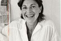 Helen Frankenthaler / Artist Helen Frankenthaler