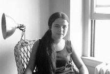 Eva Hesse / Artwork of Eva Hesse, an American painter and sculptor (1936 - 1970)