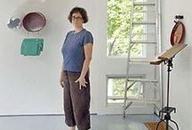 Jessica Stockholder / Sculptures and Installations by Jessica Stockholder