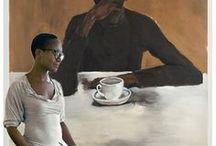 Lynette Yiadom-Boakye / Lynette Yiadom-Boakye I *1977 I British artist