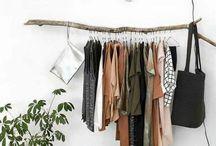 stylish   minimalist closet