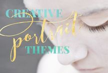 Creative Portrait Themes / Let's create a unique concept portrait shoot just for you. What makes your heart sing? Step in front of the camera and into a magical world where you can be whatever you wish