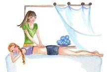 Massage quotes / Regelmatig een massage ondergaan heeft een positief effect op je welbevinden. Enkele voordelen van een massage: geeft meer energie en verbetert de flexibiliteit door vermindering van spierspanning en verkrampte spieren, verbetert het lichaamsbewustzijn en de energie gaat weer stromen, waardoor je beter in je vel zit en je eerder merkt als je over je grenzen gaat. Vermindert angst, stress en spanning door het vrijkomen van weefelhormonen, zoals serotonine en oxytocine.
