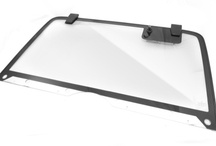 Jeep replacement glass for Jeep CJ, Wrangler and Cherokee. Windshields, door glass and replacement liftgate glass.