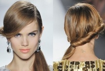 Spring 2013 runway inspiration / Deep side parts, low ponys, braids and more!