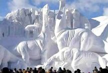 Ice-Snow sculpture / by Franny Doherty