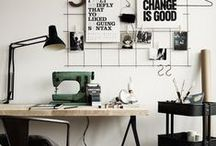 Workspace  / A curation of inspirational offices, studios, and workspaces