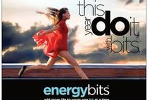 BITS™ On The Run / BITS™ go great with any activity especially RUNNING! We're a small package with a big punch! Keep us near, stay motivated and just keep running!  / by ENERGYbits