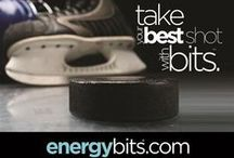 BITS™ On Ice / BITS™ are great on and off the ice! Hockey players love how easy our BITS™ are to take and power they pack! / by ENERGYbits