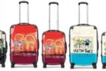 Products | Suitcases / Beautiful suitcases with Poul Pava art. See http://poulpavashop.com/suitcases.html for more