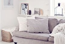 HOME | wood, white, pastel / Wood, white, pastel colours; I love it.