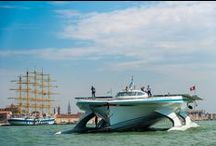 PlanetSolar in Venice !!! / To have details about what we are going to do in Venice, come on our website: http://www.planetsolar.org/boat