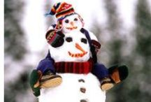 Snowman Ideas / I really want to do some of these... as long as there's some actual snow this year...